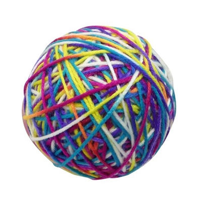 Categories® Knitty Kitty - Yarn Ball Toy For Cats