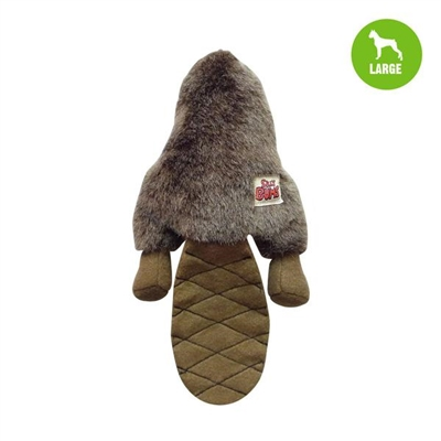 Silly Bums® Beaver Stuffed Large Dog Toy