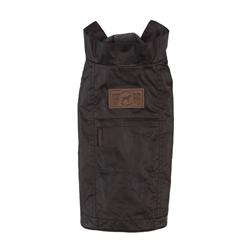 Black Waxed Utility Coat