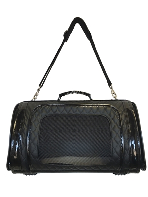 KELLE - Black Quilted