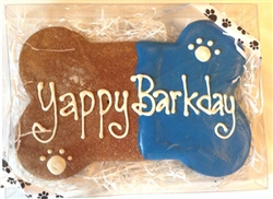 Birthday Bone Blue