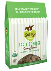 Snicky Snak - Organic Oven Baked 10 oz Treat, Apple Cobbler
