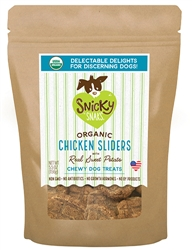 Snicky Snak - Slider 5.5 oz Treats, Chicken Sliders with Sweet Potato