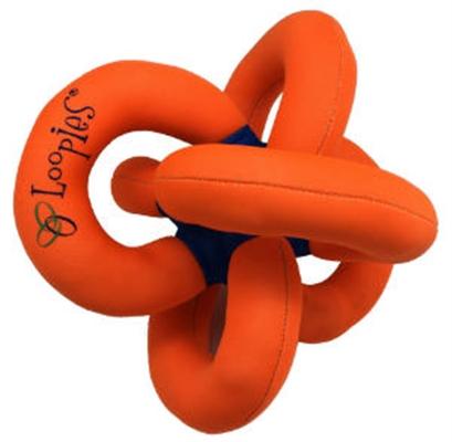 """Solid Orange Water Loopie 8"""""""