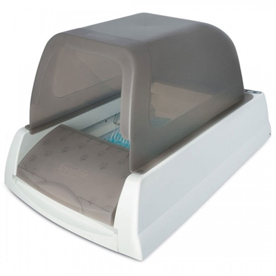 Taupe ScoopFree self-cleaning Ultra Litter Box