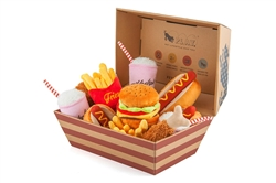 American Classic Food Collection - 15 pc with FREE Take Out Box Display