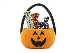 Howl-o-ween Treat Basket with 3 Squeaky Candies