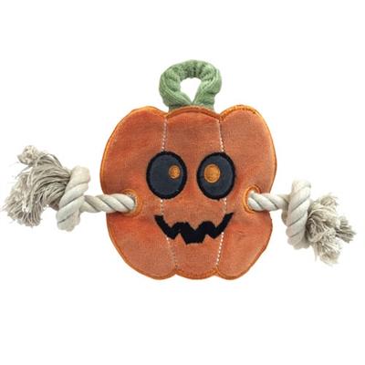 Halloween Pumpkin Stuffless Rope Toy