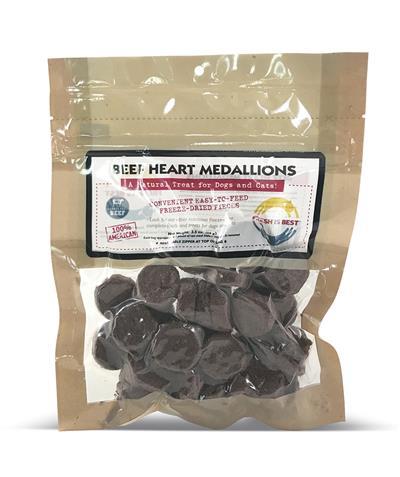 Beef Heart Medallions, 4 oz.