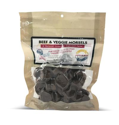 Beef and Veggie Morsels, 4 oz.
