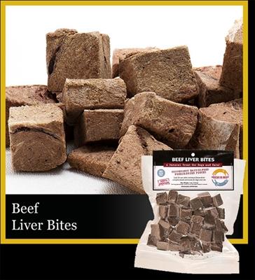 Beef Liver Bites, 4 oz.