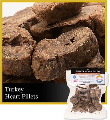 Turkey Heart Fillets (Sliced) 3 oz.