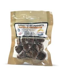 Turkey Heart Nuggets (Whole), 3 oz.