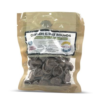 Chicken Giblet Rounds, 4 oz.