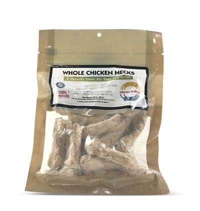 Chicken Necks, Whole, 3.5 oz.