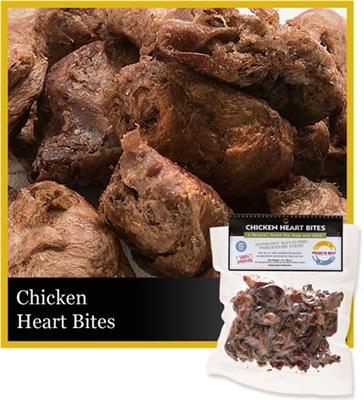 Chicken Heart Bites,  3 oz.