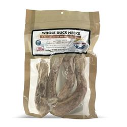 Whole Duck Necks, 4-per package 3.5 oz.