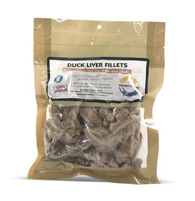 Duck Liver Fillets, 3.5 oz.