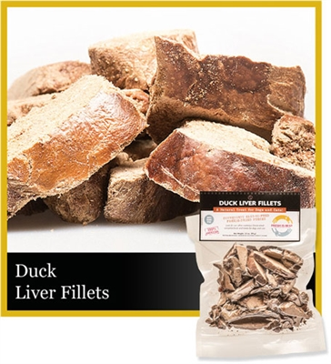 Duck Liver Fillets, 3.5 oz.