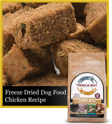 Freeze Dried Chicken Dog Food