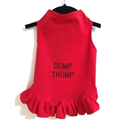 Dump Trump Dress by Daisy and Lucy