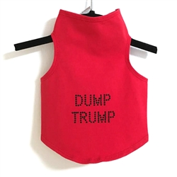 Dump Trump Tank by Daisy and Lucy