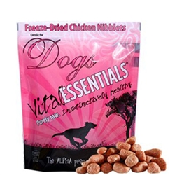 Vital Essentailas Freeze Dried Chicken Nibblets for Dogs 16oz
