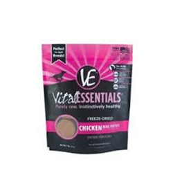 Vital Essentials Freeze Dried Chicken for Dogs  16 oz