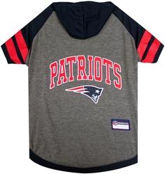 New England Patriots Hoody Dog Tee