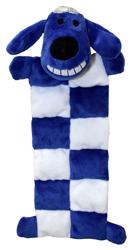 Multipet Loofa Dog Hanukkah Squeaker Mat 12 Inch
